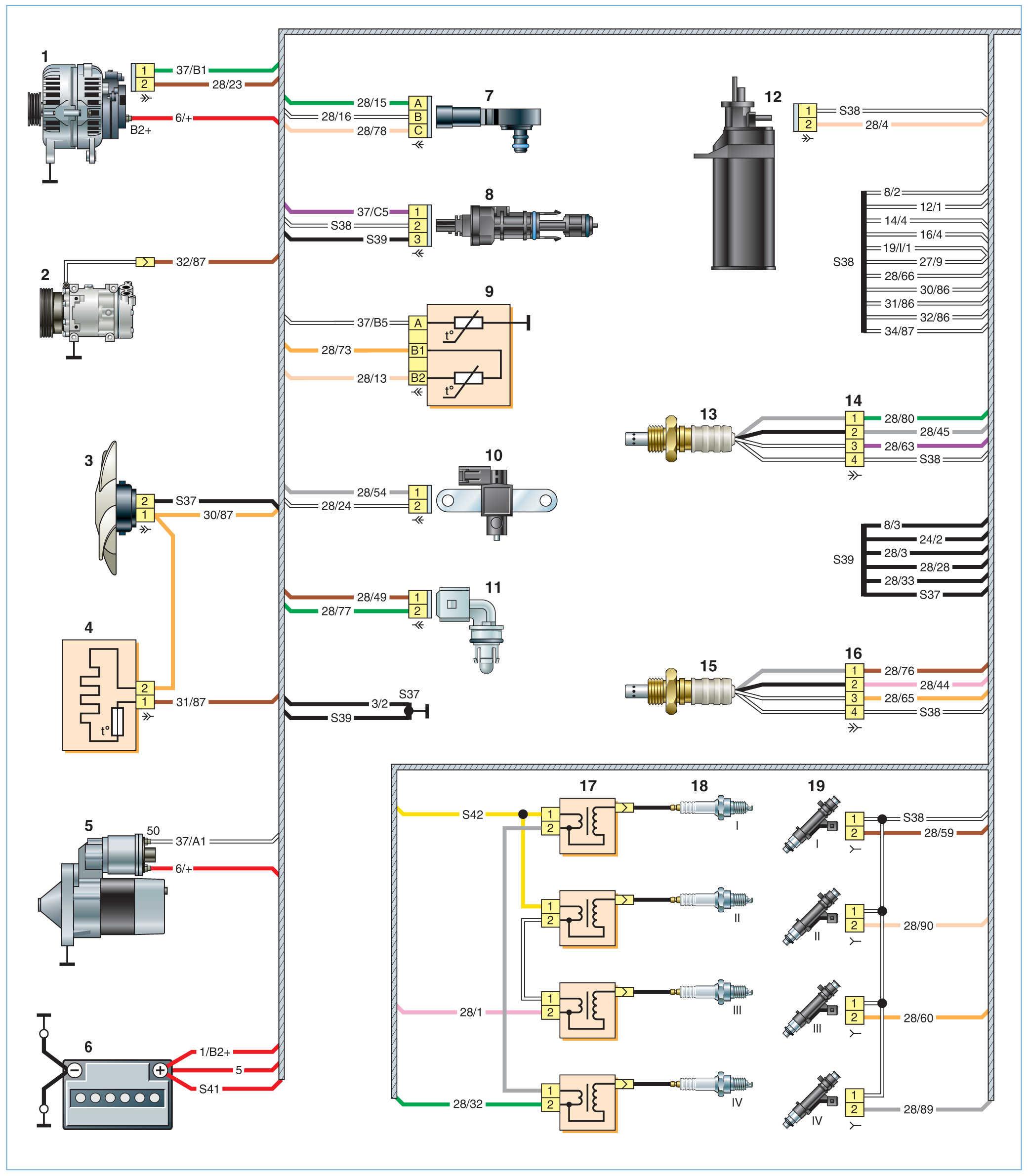 Схема nissan almera g15