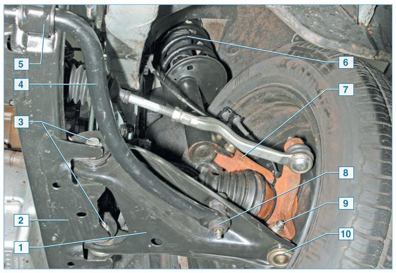 подвески Nissan Almera