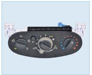 Блок управления отоплением, вентиляцией и кондиционированием воздуха