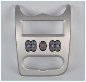 Снимаем накладку консоли панели приборов (см. «Снятие выключателей»).
