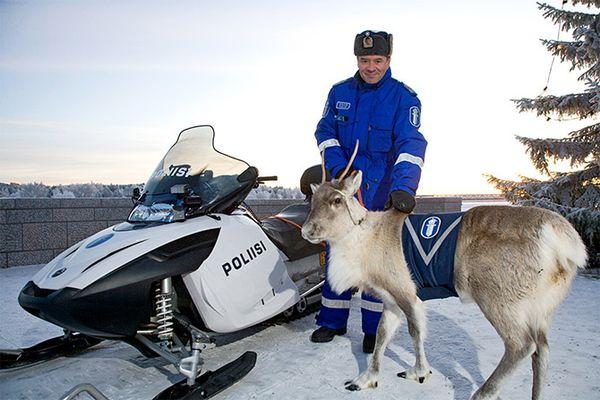Дорожная полиция Финляндии