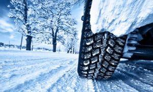 зимние шины по снегу